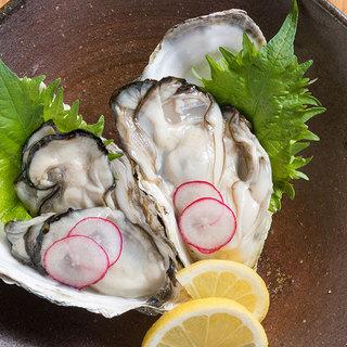 【冬季限定】瀬戸内産の牡蠣料理各種ご用意。
