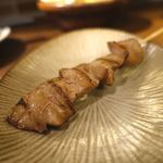 鶏料理・焼き鳥 つくし - 白肝 180円