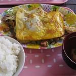 82899033 - 野菜炒め定食450円