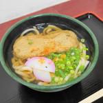 かけはし - 料理写真:じゃこてんうどん(500円)