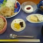 割烹 なかむら - 日替り定食(豚肉のしょうが焼)