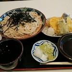 長寿庵 - 料理写真:天ざる
