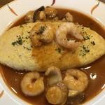 厨 Sawa - アメリカンソースのオムライス:優しい味