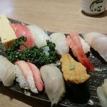 もりもり寿し - 料理写真:【ランチ】こだわり握り(10貫)
