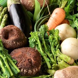 【厳選した野菜】有機・無農薬などの野菜をできるだけ使用♪