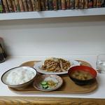 甲田 - 日替わり定食。