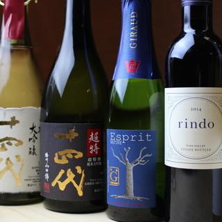 ◇日本酒・麦酒◇鮨に合う銘酒を各種鶏添えろ得ております。