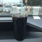 82911031 - アイスコーヒー、160円です。