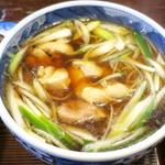 そば処 天寿庵 - 料理写真:かしわそば_700円