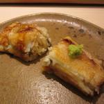 鮨 銀座 おのでら - 追加の穴子(タレ&塩)