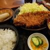喜左衛門 - 料理写真:トンカツ定食(大)20分位かかります