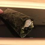 鮨 そえ島 - 広島菜巻き。