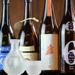 【酒】お酒ひとつひとつから旬の感じる贅沢を!レア酒も入荷中!