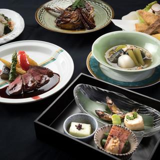 確かな経験を持つ料理人が作る、多彩な料理を堪能◎