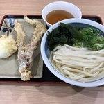 竹清 - 合計で590円(税込) ※天ぷら100円キャンペーン中