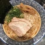 極上濃厚煮干らーめん・つけ麺 麺屋 星乃音 - あっさり煮干しそば680円