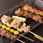纏 - 料理写真:串焼き盛合せ
