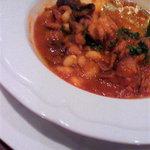 8292939 - イイ蛸と白いんげん豆のナポリ風トマト煮