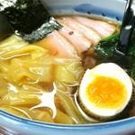 まる政 - 料理写真:叉焼ワンタン麺 950円