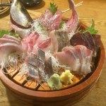 茅ヶ崎 海ぶね - お刺身盛り合わせ 6点盛り