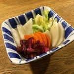 茅ヶ崎 海ぶね - 地場野菜の漬け物 盛り合わせ