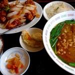 中国料理 九龍居 - 料理写真:日替わりランチ(580円に+100円でラーメン付き 税別)