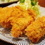 とんかつ檍 - 牡蠣フライ
