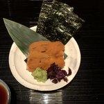 俵屋旅館 - 生雲丹 焼海苔