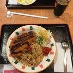 キッチンユキ 浪漫 - 料理写真:とんかつベーキーライス