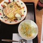 キッチンユキ 浪漫 - チーズカレーハントン