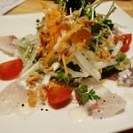 とし庵 - 料理写真:桜鯛のカルパッチョ