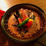 the ringo - 魚介のパエリア