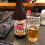 喜八 - オリオン瓶ビールで乾杯!