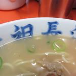 元祖長浜屋 - 脂なし柔麺の『ナシヤワ』。