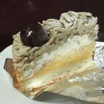 多根果実店 - 和栗のモンブラン
