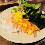 郷家 - ここぞとばかりに野菜を摂る!