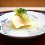 松川 - 料理写真:京都塚原の筍、蛤、蕗