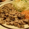 キッチンABC - 料理写真:大盛豚からし焼肉 800円