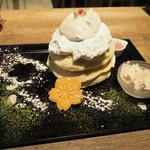 Riz Labo Kitchen - 桜パンケーキ2018