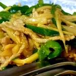 慶龍 - 青椒肉絲