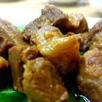 慶龍 - 青菜と角煮