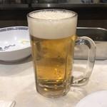 鳥の巣 - 2018年3月21日  生ビール