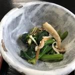 ニュー長田屋 - 小鉢の和え物