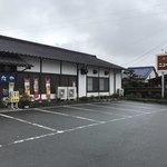ニュー長田屋 - まだ車が止まってない駐車場