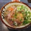 今庄そば - 料理写真:天玉そば ねぎかつお多め 450円 (2018.3)
