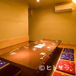 京都豆八 - ≪完全個室のご案内≫8名程は入れる、掘りごたつ式の完全個室
