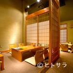 京都豆八 - ≪京町家の店内≫創作料理と落ち着いた町家ならではの雰囲気