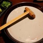 ダイニング さんさん - 黒豆豆乳のできたて豆腐