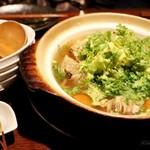 ダイニング さんさん - 鶏団子と野菜の鍋