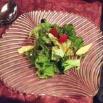 82941666 - 有機野菜のサラダ